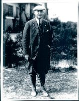 Donald Ross, renowned golf course designer